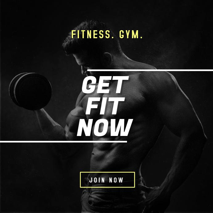 Fitness Gym Digital Ad