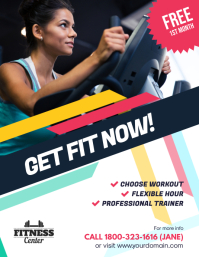Fitness Gym Promotion Flyer Poster