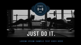 Fitness Gym Video Ad template