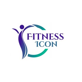 fitness icon logo template design 徽标