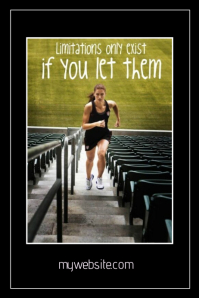 Fitness Limitation Only Exist if you let them