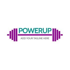 Fitness Logo Design template
