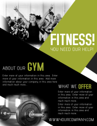 Customize 1 730 Fitness Poster Templates Postermywall
