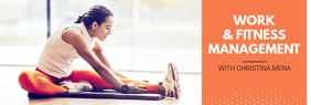 Fitness Professional Trainer Linkedin Banner template