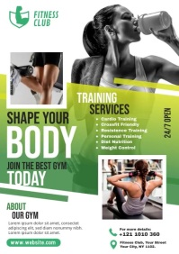 Fitness Template A4