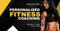 Fitness Trainer Coach Facebook Post Template