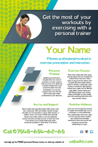 Fitness Trainer Flyer