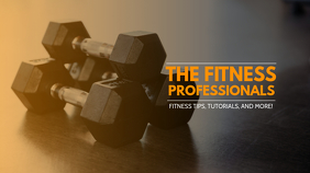 Fitness Trainer Youtube Channel Cover