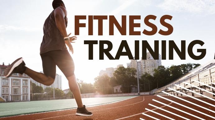 fitness training youtube thumbnail YouTube-thumbnail template