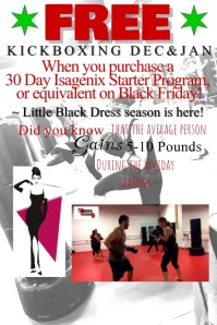 fitness flyer with video clip