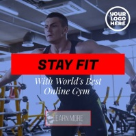Fitness workout gym personal training system