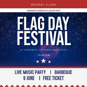 Flag Day Festival Instagram Video Template