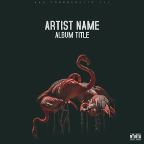 FLAMINGO ALBUM ART template