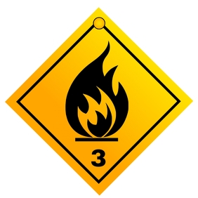 Flammable sign 2