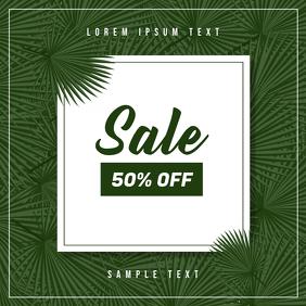 Flash Sale Ad Template Sampul Album