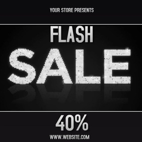 FLASH SALE EVENT AD DIGITAL Pos Instagram template