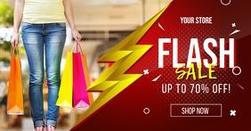 Flash Sale Facebook Post