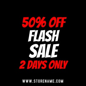 Flash Sale Retail Video Template