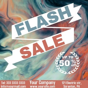 Flash Sale video ad instagram