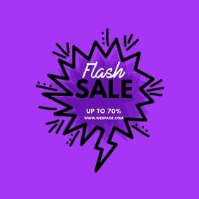 Flash Sale Video Ad Template
