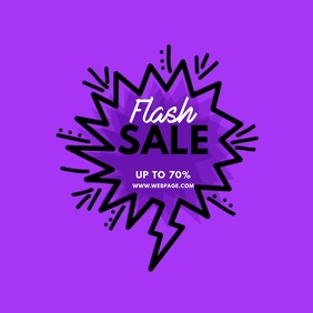 Flash Sale Video Ad Template