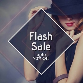 flash SEASON SALE AD TEMPLATE