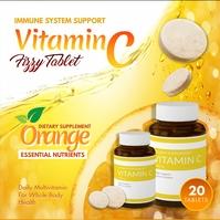 Flavored Vitamins Pills Ad Сообщение Instagram template