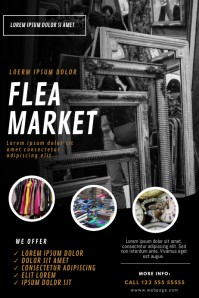 Flea Market Flyer Design Template