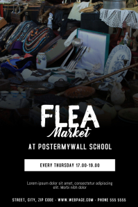 Flea Market Flyer Design Template
