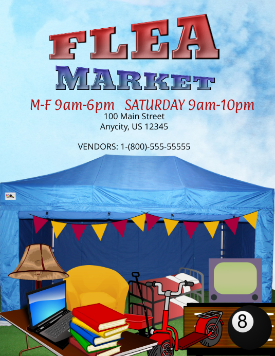 Flea Market Template Postermywall