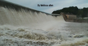 Flooded Dam Facebook Shared Image template
