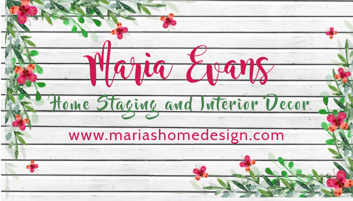Floral Business Card Template 名片