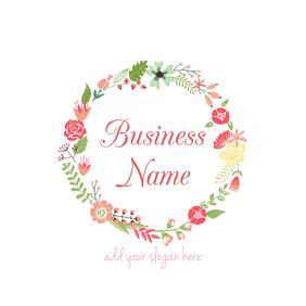 floral business logo
