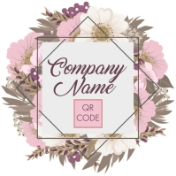 Floral Company Logo Template