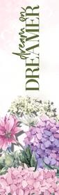 Floral Dreamer Bookmark