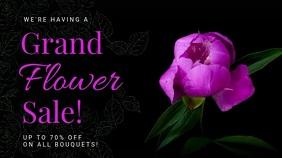 Floral Sale Digital Display Video Template
