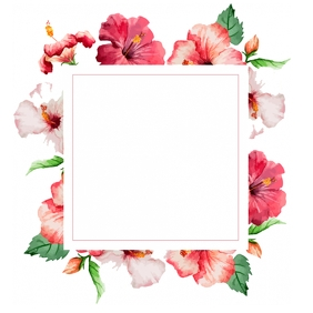 Floral Template Instagram Post