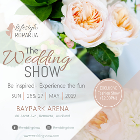 Floral Wedding Show Instagram Post