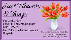 Florist Business Card