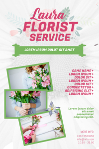 florist Flower Flyer Template