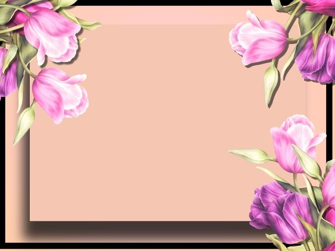 flower background, frame flower, LOVE HEART. 演示 template