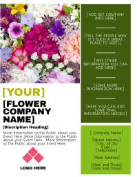 Flower Business / Event Flyer Template