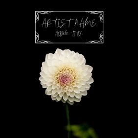 FLOWER DESIGN COVER Sampul Album template