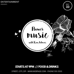 Flower event instagram video post template