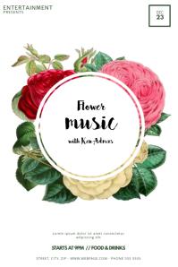 Flower Event Flyer Template