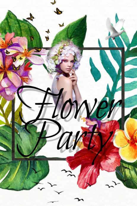 Flower Event Template