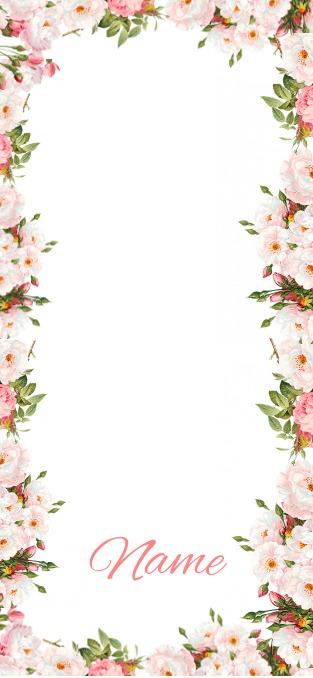 Flower Geofilter template