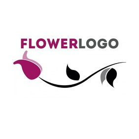 Flower logo icon