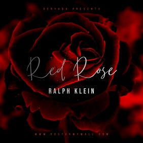 Flower Red Rose CD Cover Art