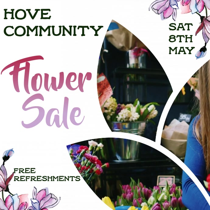 Flower Sale Festival Video Promo Template